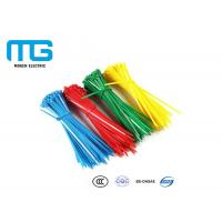 Self Locking Nylon Cable Ties Fire Resistance With CE , UL Certification Manufactures