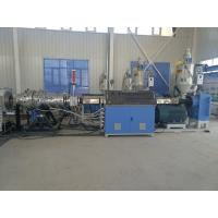 High Output Plastic Pipe Extrusion Line , PE Cool And Hot Water Pipe Production Line , PP PE Plastic Water Pipe Machine Manufactures