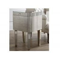 Mirrored Shining Silver Foil Small Coffee Tables Living Room Furniture Manufactures