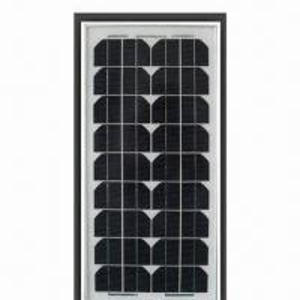5 to 20W Monocrystalline Solar Panel with 21V Open-circuit Voltage