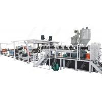 PP / PS Thermoplastic Extrusion Machine , SJ120 Packaging Sheet Extruder Making Machine Manufactures