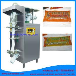 DXD-500 liquid juice bag plastic film automatic filling packing machine Manufactures