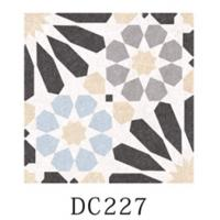 Multicolor Decorative Ceramic Floor Tile 8.5mm Thinckness With Difference Pattern Manufactures