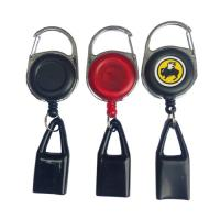 China Heavy Duty Retractable Badge Reel Retractable Cigarette Lighter Holder on sale