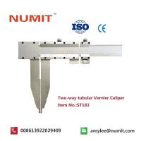 Buy cheap Large 0-2500mm Long Jaw Vernier Caliper With Steel Sliding Pin Handles from wholesalers