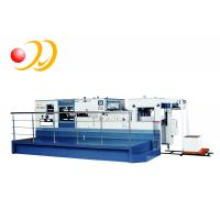 Electronic Paper Die Cutting Machine High Strength Casting With Stripping Unit Manufactures