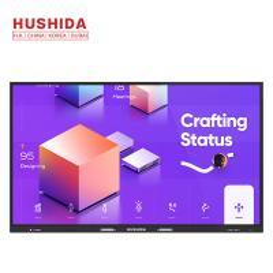 China HUSHIDA 98 integrative LED display smart multitouch screen LED monitor interactive flat panel on sale