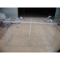 Economical Gabion Stone Cages , Corrosion Resistant Rock Basket Retaining Wall Manufactures