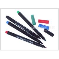 Buy cheap Colorful Wet Erase Pen for Temporary Marking on Plastic Easily Wiped Off by Wet Fabric from wholesalers