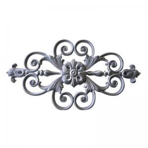 Decorative Cast Iron Fence Parts / Rosettes Ornament Cast Iron Gate Panels Manufactures