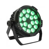 4 in 1 Slim LED Par Can Stage Light 18 X 12W With Beam Angle 45° Manufactures