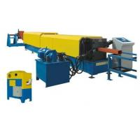 7.5Kw Hydraulic Automatic Cutting Panasonic Downspout Pipe Roll Forming Machine Manufactures