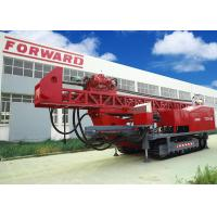 1800m DTH RC Top Drive Rig Water Well Drilling Rig With Crawler Mounted Manufactures