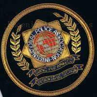 customized design embroidered logo patch Manufactures