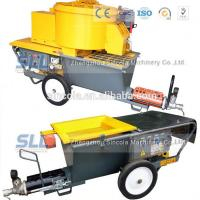 China 4m3 / H Mortar Spraying Machine Exterior Wall Plastering Pumping Delivery 30m For Building on sale