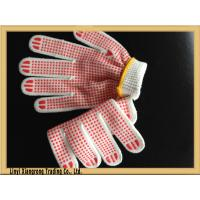 PVC Dotted Glove for Construction Use , Safe working glove Manufactures