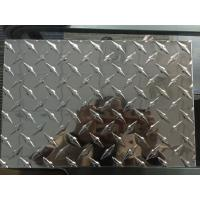 China Customized Diamond Aluminum Sheet Industrial Aluminum Checkered Plate For Boat Lift on sale