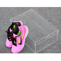Woman Shoes Storage Small Clear Acrylic Shoe Box Without Logo Manufactures