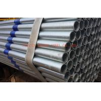 EFW Galvanized Steel Pipes BS1387 ASTM A53 , Thick Wall 0.5mm - 20mm Manufactures