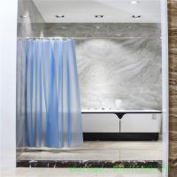 3d circle peva shower curtain  NON PVC 72*72 with hooks individual package