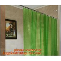 SEVEN COLOR DOT SHOWER CURTAIN, Fashion beautiful flower printing retractable