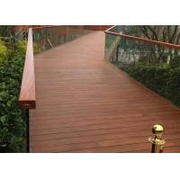 Eco Poly Bamboo Deck Tiles 1220 Kg/M³ Density With Low Expansion Rate Manufactures