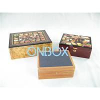 China Luxury Gifts Packaging Painted Wooden Boxes For Cigar , Watch , Jewellry on sale