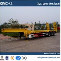 lowboy semi trailer Manufactures
