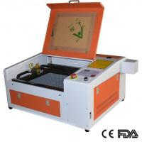 Quality 3040 50W Laser engraving machine , 300x400mm mini laser cutter machine for crafts DIY for sale