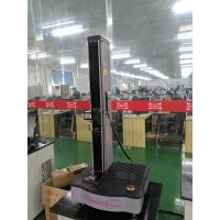 Single Column Mechanical Testing Machine Compression Test 1KN ISO 37 ASTM D412 Manufactures