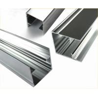 Length Customized ,  Polished Aluminium Profile Extrusion For Doors  And  Windows Manufactures