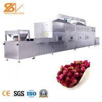 Quality Electric Microwave Wood Drying Machine For Tea Flower Wood Temperature Controllable for sale