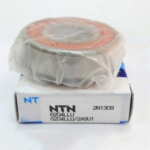 Buy cheap 6204LLU  NTN Ball Bearings , P6 Chrome Steel Deep Groove Ball Bearing  For Motor from wholesalers