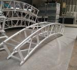 400*400mm Aluminum Alloy 6082-T6 Square Spigot Arch Lighting Truss / Aluminum Roof Truss Manufactures
