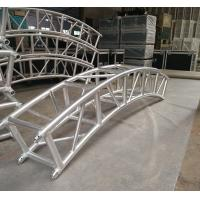 400*400mm Aluminum Alloy 6082-T6 Square Spigot Arch Lighting Truss / Aluminum Roof Truss Manufactures