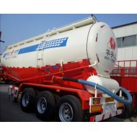 60tons 3axles 50cbm with tensile steel V shape tank semi trailer for Africa Manufactures