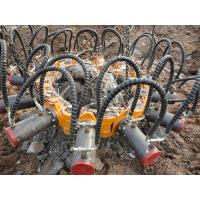 Engineering Construction Pile Cutter Machine , Pile Cutting Equipment Hydraulic Breaker Hire Manufactures