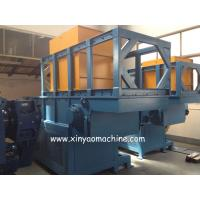 Full Automatic Single Shaft Plastic Shredder Machine With PLC Programmel Control Manufactures