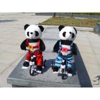 Musical Bicycle Animal Panda Dancing and Singing and Encircling Electronic Panda Soft Toy Manufactures