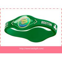 3D Healthy Power Energy Silicone Bracelet Manufactures