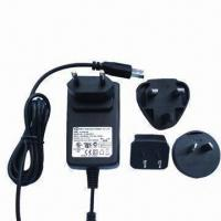 China Universal AC/DC Adapters, 5V DC 1A, Interchangeable Power Supplies, UL, GS, FCC, CE, SAA on sale