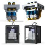 350W Gross Power Digital 3d Printer High Precision 3d Printer 400 * 300 * 520 Mm Manufactures