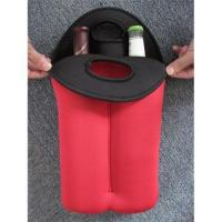Neoprene Wine Bottle Cooler/Holder/Carrier,2-bottle Wine Cooler Bag Manufactures