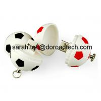China Football/Soccer Plastic USB Stick, Football Shape USB Flash Drive on sale
