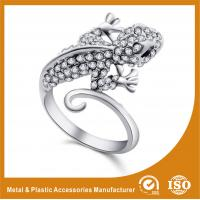 China 304 Stainless Steel Ladies Fashion Rings For Anniversary / Gift on sale