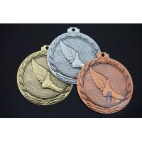3d Effect Custom Engraved Medals With Antique Gold Silver Copper Plating Manufactures