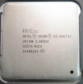 China 22nm Intel Xeon E5 2600 v2 3.30 GHz E5 2667 v2 5 GT / s DMI 33 Clock multiplier on sale
