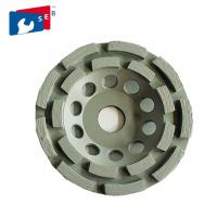 China Sintered Double Row Diamond Cup Grinding Wheel For Grinding And Polishing Tile on sale
