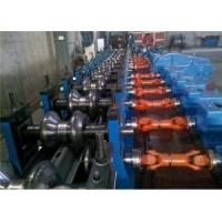 Automatic Highway W-Beam Guardrail Roll Forming Line Working Speed 5-12m/min Use Groups Gear Reducers Manufactures