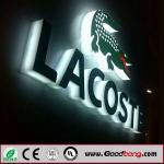 Backlit Acrylic LED Sign 3D Light Box Letter Sign Manufactures